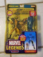 Toy Biz Marvel Legends Wolverine Apocalypse BAF Build Series Action Figure