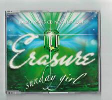 ERASURE Promo SUNDAY GIRL Radio Mute CD mint  mix 2 track