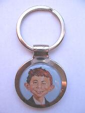 Alfred E Neuman Key Chain, Mad magazine Logo Keychain, alfred e. newman keychain