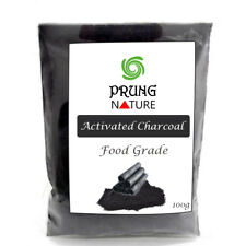 100% Pure Activated Bamboo Charcoal Carbon Powder Whitening Blackhead Face Mask.