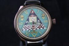 "Vintage Men's Watch ROLEX ""Masonic Symbols"""