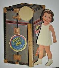 "Vintage Paper Dolls - Patsy Ann - Queen Holden Doll - 16 1/4"" tall- pre-cut"