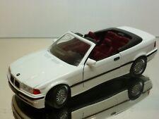 SCHABAK 1605 BMW 325 CABRIOLET E36 - WHITE  1:24 - EXCELLENT CONDITION  (2)