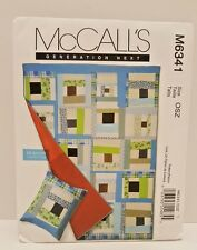McCall's 6341 Quilt and Sham Sewing Pattern