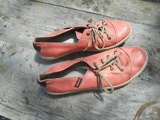 RARES CHAUSSURES FEMME ROWER T 39 CUIR SAUMON BE A 21€ ACH IMM FP RED MOND RELAY