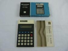 Sharp Else Mate EL-8146 Calculator - boxed