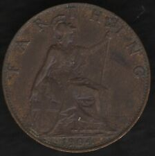 More details for 1904 edward vii farthing coin better date | british coins | pennies2pounds