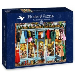 Bluebird 1000 Piece Jigsaw Puzzle - The Clothing Emporium