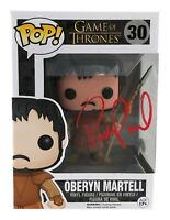 Pedro Pascal Signed Oberyn Martell Funko Pop Game of Thrones JSA COA Autograph