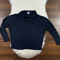 CAbi Women's Size Medium Quinn Tee Cowl Neck Dolman Long Sleeve Shirt Top #3227