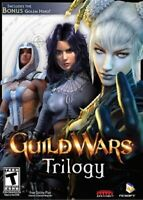 Guild Wars Trilogy (PC DVD-Rom, 2005-2008, Microsoft Windows, Pre-owned)