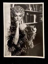 Marilyn Monroe By Sam Shaw, Black & White Vintage 5x7 Postcard