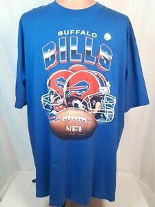Vintage Buffalo Bills XXL True Fan Mens T-Shirt NWOT Deadstock