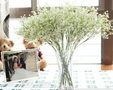 18 X GYPSOPHILA LATEX REAL TOUCH FLOWERS CREAM BOUQUETS FOR WEDDING BOUQUET