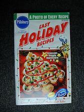 PILLSBURY Cookbook Booklet EASY HOLIDAY RECIPES 1997 #202