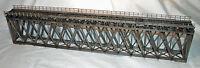 170' HOWE TRUSS DECK BRIDGE N Model Railroad Structure Unpainted Wood Kit HL110N