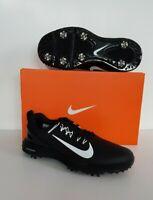 Women's Nike Lunar Command 2 Golf Shoes Black/White 8/9.5 880120 001