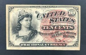 4th Issue - Fractional Currency - 10 Cents