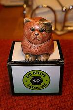 Harmony Kingdom Pot Bellys Birthstone Calender Cats Topaz November