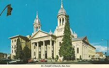 St. Joseph's Church in San Jose CA Postcard