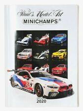 MINICHAMPS DIECAST CATALOGUE EDITION 1 2020 MODEL RANGE A4 (30 x 21cm) 195 PAGES