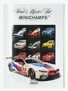 MINICHAMPS DIECAST CATALOGUE EDITION 1 2020 MODEL RANGE A4 (30 x 21cm) 195 PAGES