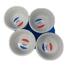 4.5-Inch HIC Souffles Porcelain Set of 6 14-Ounce Capacity