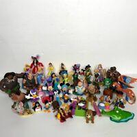 DISNEY Figures Princess Frozen Toy Story Aladdin Lion King Jake Pirate Lot 45+
