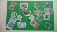 9957    -  timbres avec étampe de ville