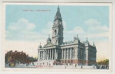 Hampshire postcard - Town Hall, Portsmouth (A230)