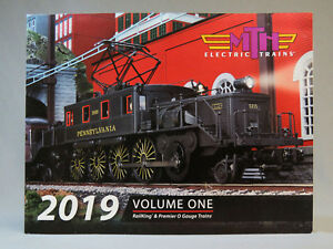 MTH 2019 VOLUME 1 TRAIN CATALOG toy o gauge lionel standard dealer book vol NEW
