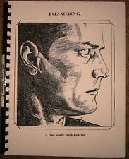 """Due South Fanzine """"Even Steven 2"""" SLASH RayV/Frasier"""