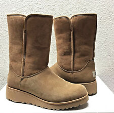 1b636278d8f1f UGG AMIE CLASSIC SLIM CHESTNUT SUEDE WEDGE BOOT US 9.5   EU 40.5   UK 8