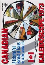 Canadian Kaleidoscope 1973 DVD NEW Revelation Video RDC Turbotrain Tempo pre-VIA