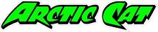 "Arctic Cat Version 5  green Decal  7"" x 1.75"""
