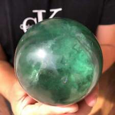 TOP! Natural Fluorite Quartz sphere Crystal ball crystal Healing 1pc 800-1000g