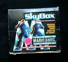1993 SkyBox Super Mario Bros. Trading Cards Box ~ 36 Sealed Foil 8~Card Packs