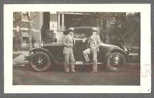 Vintage Car Photo Men w/ 1926 Dodge Automobile 769156