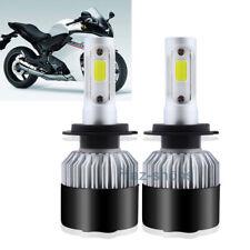 120W H7 LED Headlight Bulb Kit High Low Beam For Honda CBR 1000RR 600RR F4i