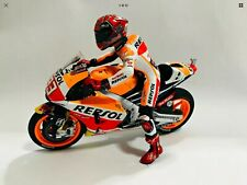 Minichamps Moto GP 1 : 12 Scale Marquez Figurine Custom & Honda RC213V 2016
