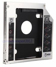2nd HD HDD SSD Hard Drive SATA Caddy Adapter for Medion Akoya E7212 p6624 p6812