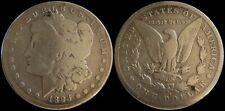 1893-S Morgan Silver Dollar Nice G+ Details Key Date Decent Eye Appeal