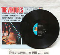 The Ventures - On Stage Around the World LP Vinyl Record Mono BLP-2035 USA 1965