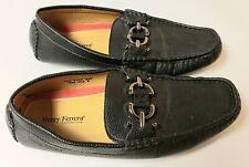 Henry Ferrera Men's Casual Loafers Black Sz 8