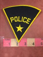 Vtg Generic POLICE Officer Patch Star Perfect 4 Costume Cosplay 61B8