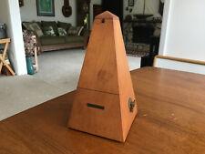 Seth Thomas Solid Wood Metronome De Maelzel Vintage