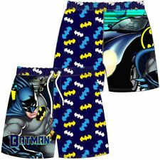 Licensed Boys Swim Shorts Style Batman Size 7-8