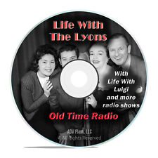 Life with the Lyons, + Luigi, 924 Old Time Radio Shows, Sitcom, Comedy DVD G65