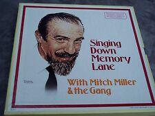 Reader's Digest Mitch Miller Singing Down Memory Lane Vinyl 6 LP Record Box set