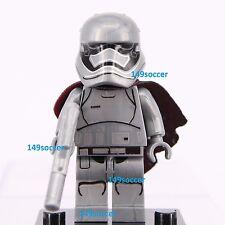 Star Wars ( Captain Phasma Trooper ) Mini Figure Fits Lego Super Hero